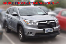 2015 Toyota Kluger GSU50R GXL 2WD Silver Sky 6 Speed Sports Automatic Wagon Berwick Casey Area Preview