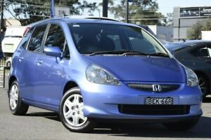2008 Honda Jazz GD VTi Blue 7 Speed Constant Variable Hatchback Condell Park Bankstown Area Preview