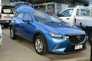 2017 Mazda CX-3 Maxx Sport Blue 6 Speed Automatic Wagon Beaudesert Ipswich South Preview