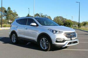 2017 Hyundai Santa Fe DM3 MY17 Highlander Platinum Silver Metallic 6 Speed Sports Automatic Wagon Port Macquarie Port Macquarie City Preview