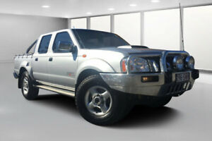 2013 Nissan Navara D22 Series 5 ST-R (4x4) Silver 5 Speed Manual Dual Cab Pick-up Dalby Dalby Area Preview