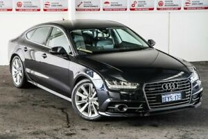 2016 Audi A7 4G MY17 Sportback 3.0 TDI Quattro Blue 7 Speed Auto Direct Shift Hatchback Myaree Melville Area Preview