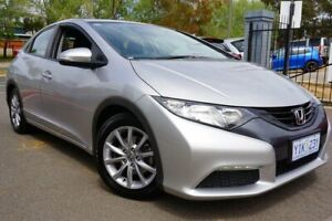2013 Honda Civic 9th Gen MY13 VTi-S Silver 6 Speed Manual Hatchback Phillip Woden Valley Preview