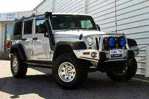 2008 Jeep Wrangler JK MY2008 Unlimited Sport Silver 6 Speed Manual Softtop