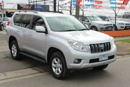 2009 Toyota Landcruiser Prado GRJ150R GXL (4x4) Silver 5 Speed Sequential Auto Wagon Brooklyn Brimbank Area Preview