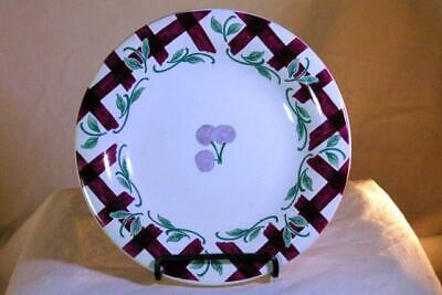 Princess House Orchard Medley Accent Salad Plate 7 7/8