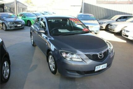 2008 Mazda 3 BK MY06 Upgrade Neo Grey 5 Speed Manual Hatchback Mitchell Gungahlin Area Preview