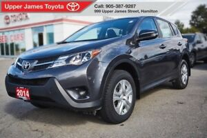 2014 Toyota RAV4 LE AWD - No accidents, Carproof clean.