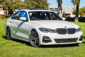 2019 BMW 3 Series G20 330i Steptronic M Sport White 8 Speed Sports Automatic Sedan Burswood Victoria Park Area Preview