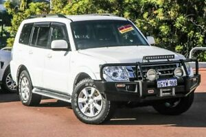 2015 Mitsubishi Pajero NX MY15 GLX White 5 Speed Sports Automatic Wagon Cannington Canning Area Preview