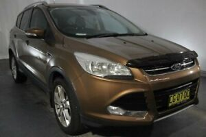 2014 Ford Kuga TF Trend PwrShift AWD Brown 6 Speed Sports Automatic Dual Clutch Wagon Maryville Newcastle Area Preview