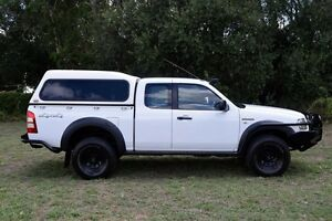 2008 Ford Ranger PJ 07 Upgrade XL (4x4) White 5 Speed Manual Lake Illawarra Shellharbour Area Preview