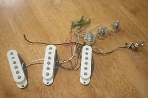 Fender Srat Texas Special pickups + Wiring + 3 Pots + switch etc Mullumbimby Byron Area Preview