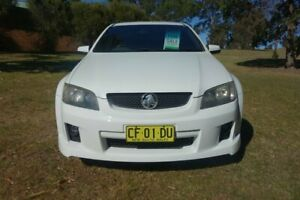 2008 Holden Ute VE SV6 White 6 Speed Manual Utility East Maitland Maitland Area Preview
