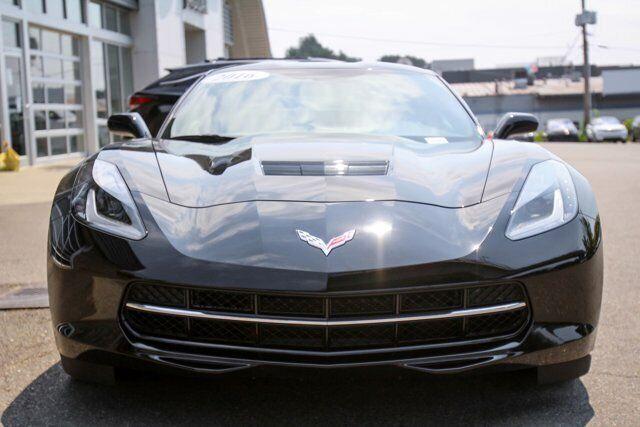 2016 Black Chevrolet Corvette  1LT   C7 Corvette Photo 6