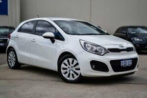 2014 Kia Rio UB MY15 SI White 6 Speed Sports Automatic Hatchback
