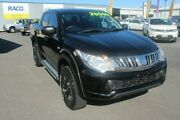 2015 Mitsubishi Triton MQ MY16 GLX Double Cab Black 5 Speed Sports Automatic Utility Portsmith Cairns City Preview