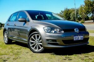 2013 Volkswagen Golf VII 103TSI DSG Highline Grey 7 Speed Sports Automatic Dual Clutch Hatchback Clarkson Wanneroo Area Preview