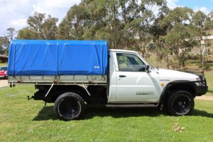 2001 Nissan Patrol Ute Toowoomba Surrounds Preview