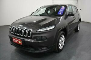 2014 Jeep Cherokee KL Sport (4x2) Grey 9 Speed Automatic Wagon Oakleigh Monash Area Preview