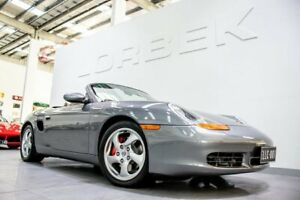2000 Porsche Boxster S MY2001 Seal Grey 5 Speed Tiptronic Roadster Port Melbourne Port Phillip Preview