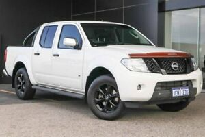 2013 Nissan Navara D40 S5 MY12 ST-X 550 White 7 Speed Sports Automatic Utility Wangara Wanneroo Area Preview