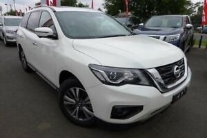 2018 Nissan Pathfinder R52 Series II MY17 ST-L X-tronic 4WD White 1 Speed Constant Variable Wagon Hoppers Crossing Wyndham Area Preview