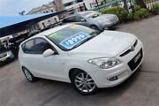 2009 Hyundai i30 FD MY09 SLX White 5 Speed Manual Hatchback Hamilton Newcastle Area Preview