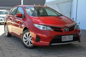 2013 Toyota Corolla ZRE182R Ascent Red 6 Speed Manual Hatchback Springwood Logan Area Preview