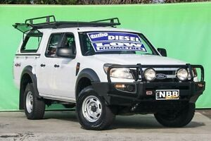 2011 Ford Ranger PK XL Crew Cab White 5 Speed Manual Utility Ringwood East Maroondah Area Preview