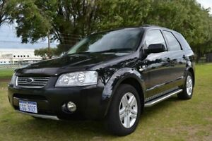 2008 Ford Territory SY MY07 Upgrade Ghia (4x4) Black 6 Speed Auto Seq Sportshift Wagon Rockingham Rockingham Area Preview