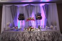 Flat fee Wedding Decor: any Event. We will work with your budget