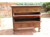 Mahogany Secrétaire Chest Of Drawers
