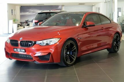 2016 BMW M4 F82 M-DCT Orange 7 Speed Sports Automatic Dual Clutch Coupe Southport Gold Coast City Preview