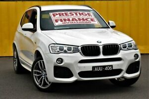 2016 BMW X3 F25 LCI xDrive20d Steptronic White 8 Speed Automatic Wagon Cheltenham Kingston Area Preview