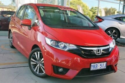 2014 Honda Jazz GF MY15 VTi-S Red 1 Speed Constant Variable Hatchback