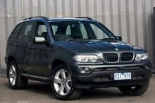 2005 BMW X5 E53 MY05 d Steptronic Green 6 Speed Sports Automatic Wagon Ringwood East Maroondah Area Preview