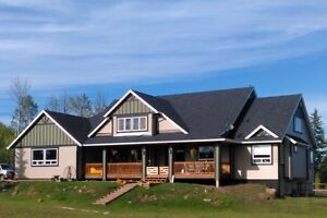 167+ Acre Hobby Farm/Ranch with Near New Craftsman Style Home