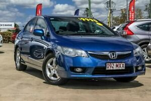 2010 Honda Civic 8th Gen MY10 Limited Edition Blue 5 Speed Manual Sedan Gympie Gympie Area Preview