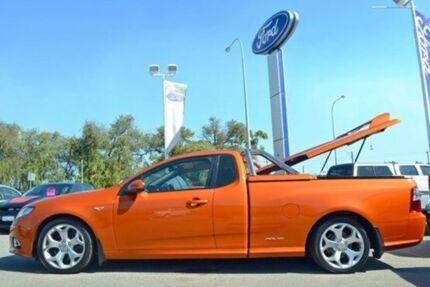 2012 Ford Falcon FG MkII XR6 Ute Super Cab Turbo Orange 6 Speed Auto Seq Sportshift Utility Midland Swan Area Preview