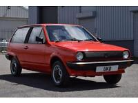 VW VOLKSWAGEN MK2 POLO BREADVAN 1.3 CL 1984 RED LOW MILEAGE 3DR NOT MK1 OR MK3