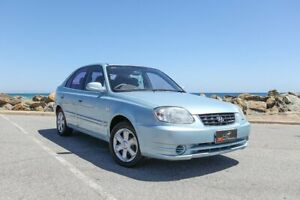 2004 Hyundai Accent LC MY04 GL Blue 5 Speed Manual Hatchback Lonsdale Morphett Vale Area Preview