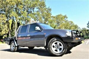 2000 Holden Rodeo TF R9 LX Crew Cab Grey 5 Speed Manual Utility Five Dock Canada Bay Area Preview