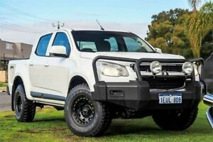 2015 Holden Colorado RG MY15 LT Crew Cab White 6 Speed Sports Automatic Utility