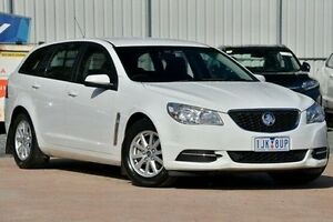 2013 Holden Commodore VF MY14 Evoke Sportwagon White 6 Speed Sports Automatic Wagon Ferntree Gully Knox Area Preview