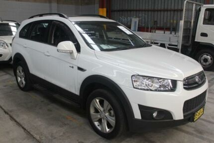 2012 Holden Captiva CG MY12 7 CX (4x4) White 6 Speed Automatic Wagon Warabrook Newcastle Area Preview