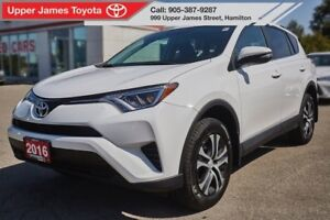 2016 Toyota RAV4 LE AWD with Upgrade Package!
