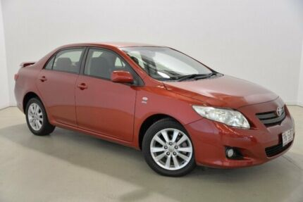 2009 Toyota Corolla ZRE152R Conquest Red 6 Speed Manual Sedan Mansfield Brisbane South East Preview