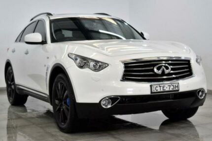2013 Infiniti QX70 S51 GT White Sports Automatic Wagon