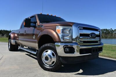 2012 Ford F-350 Lariat 2012 Ford F350SD Lariat 141431 Miles Brown Pickup Truck 8 Automatic